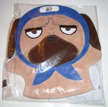 Naruto Nin-dog  Wash Glove w. Bath Salt