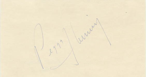 1968 Grenoble Figure Skating Gold PEGGY FLEMING Autograph 1973