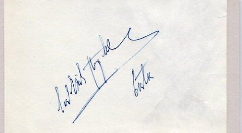 1952 Oslo Speed Skating Bronze CARL-ERIK ASPLUND Autograph 1950s