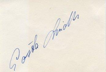 1952 Helsinki Football Bronze GOSTA LINDH Autograph 1950s