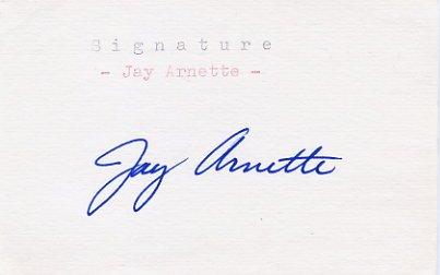 1960 Rome Basketball Champion JAY ARNETTE Autograph 1982