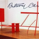 "Abstract Sculptor ANTHONY CARO Signed ""Early One Morning"" Photo Card"
