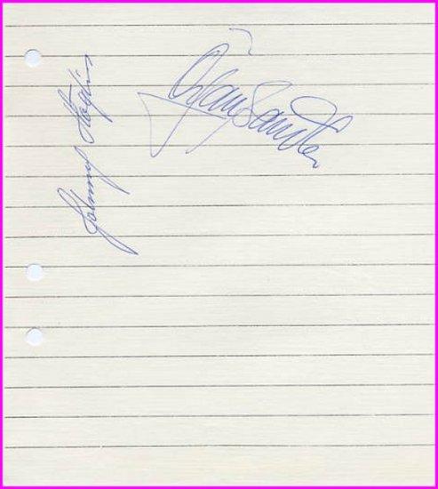 1968 Grenoble Speed Skating Gold & Bronze HOGLIN & SANDLER Autographs 1968