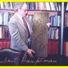 1985 Nobel Chemistry HERBERT HAUPTMAN Hand Signed Photo