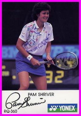 1988 Seoul Tennis Gold PAM SHRIVER Hand Signed Photo 4x6