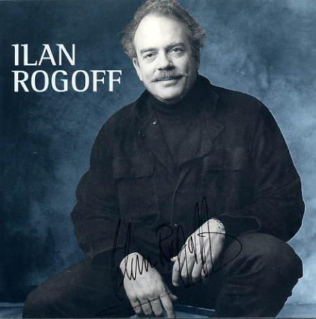 Concert Pianist ILAN ROGOFF Hand Signed Leaflet