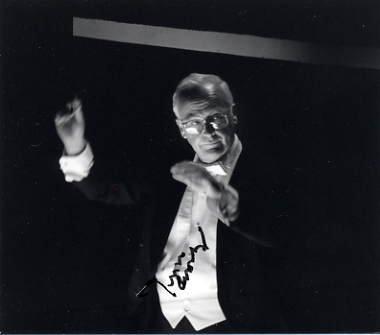 Conductor & Santa Fe Opera JOHN CROSBY Hand Signed Photo