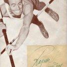 1952 Helsinki Pole Vault Bronze RAGNAR LUNDBERG Vintage Autograph