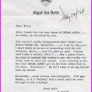 Dear Abby ABIGAIL VAN BUREN Typed Letter Signed 1958!