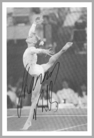 Olympic Gymnastics Star SHANNON MILLER Hand Signed Photo 4x6 from 1994