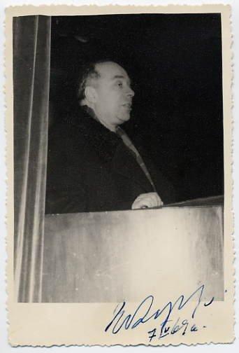 Notable Estonian Composer EUGEN KAPP Hand Signed Photo 1969