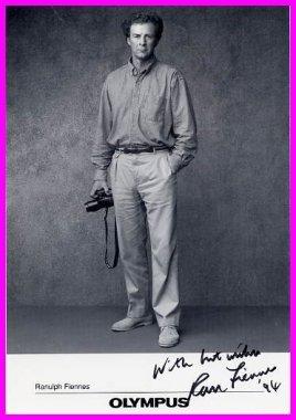 World-Famous Adventurer RANULPH FIENNES Hand Signed Photo 5x7