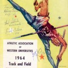 Multiple Signed Track & Field Program Los Angeles Memorial Coliseum 1964