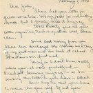 University of Michigan & Wesleyan Cross Country Coach J. ELMER SWANSON Autograph Letter Signed 1946