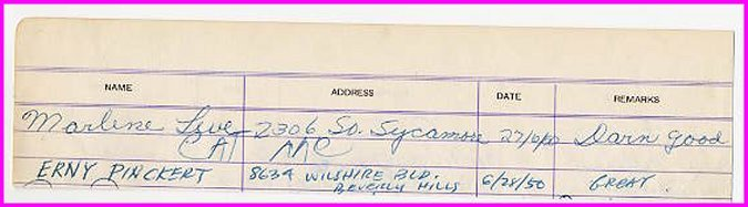 College Football HOF ERNY PINCKERT Autograph Note Signed 1950