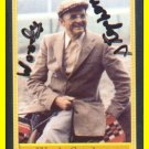 Famous Horse Racing Trainer WOODY STEPHENS Hand Signed Card