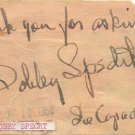 1942 Figure Skating Champion & Ice Capades BOBBY SPECHT Autograph Note Signed 1950