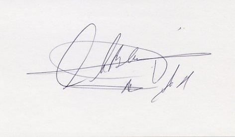 Lithuanian Basketball Legend ARVYDAS SABONIS Autographed Card