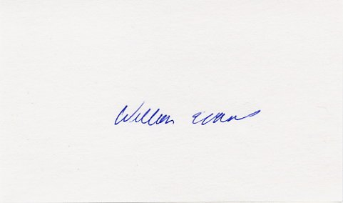 1956 Melbourne Basketball Gold WILLIAM EVANS Hand Signed Card