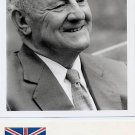 British Politician GEORGE JELLICOE Hand Signed Card & Pict