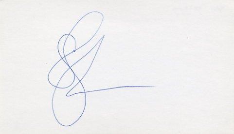 1984 Los Angeles Basketball Gold & NBA SAM PERKINS Hand Signed Card