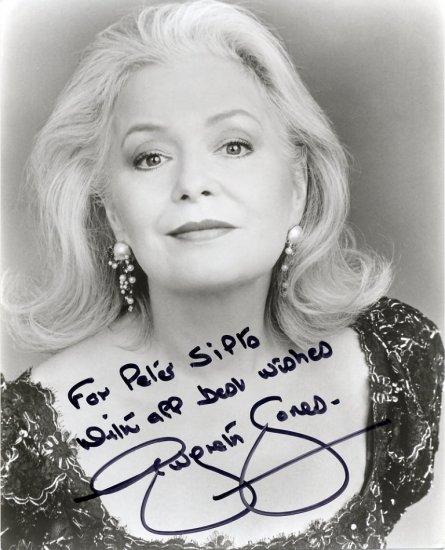 World Famous Welsh Soprano GWYNETH JONES Hand Signed Photo 8x10
