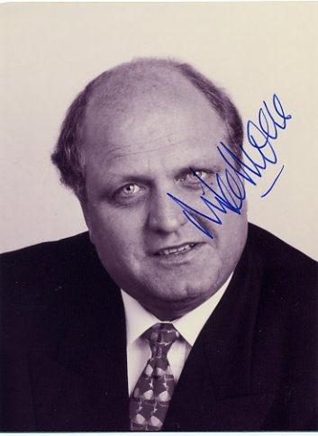 Former Prime Minister of New Zealand MICHAEL MOORE Hand Signed Photo