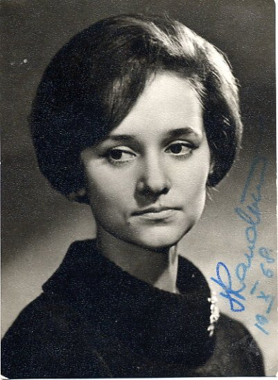 Former Estonian Prima Ballerina TIIU RANDVIIR Hand Signed Photo 1968