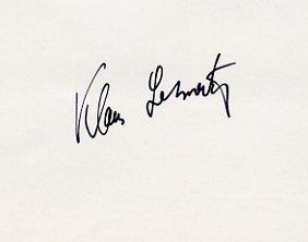 1964 Tokyo Pole Vault Bronze KLAUS LEHNERTZ Autograph