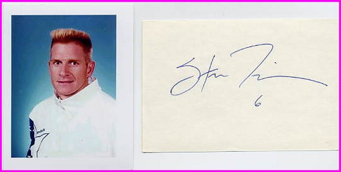 1984 & 1988 Volleyball Gold STEVE TIMMONS Autograph & Pict