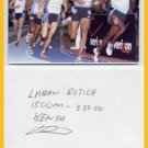 World-Class Miler & 1500m Olympian LABAN ROTICH Autograph 1996 & Photo