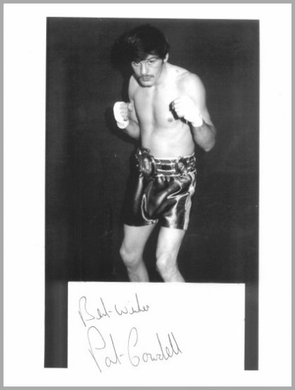 1976 Montreal Boxing Bronze PATRICK COWDELL Autograph & Photo 8x11