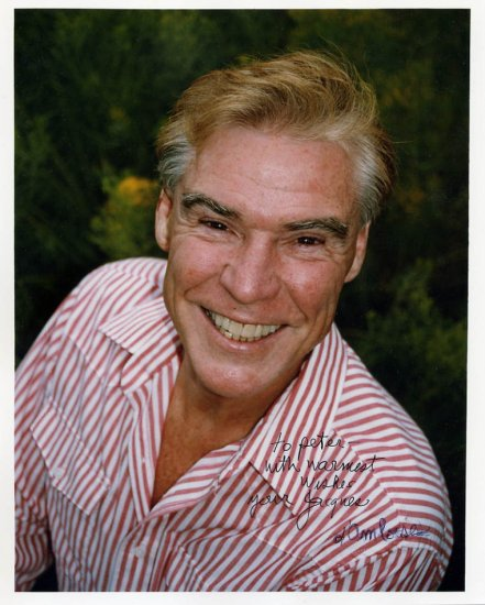 American Dancer & Choreographer JACQUES d'AMBOISE Hand Signed Photo 8x10