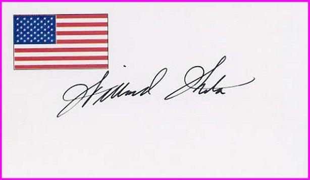 1956 Cortina Ice Hockey Silver WILLARD IKOLA Hand Signed Card