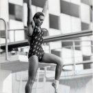 1980 Moscow Diving Bronze KARIN GUTHKE Hand Signed Photo 1980