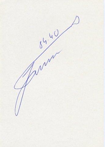 1980 Moscow & 1988 Seoul Hammer Bronze JURI TAMM Autograph