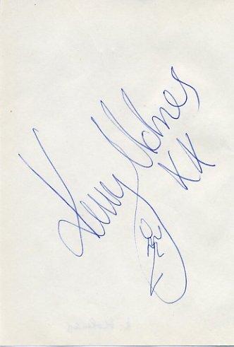 2004 Athens 800m & 1500m Gold KELLY HOLMES Autograph 1995