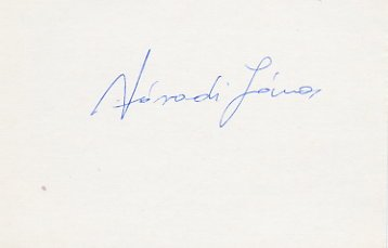 1980 Moscow Boxing Bronze JANOS VARADI Autograph 1980s