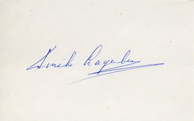 1960 Rome Swimming Bronze CATHERINA LAGERBERG Autograph 1980s