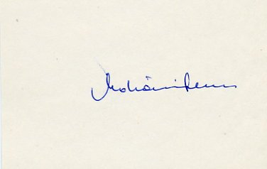 1956 Melbourne Canoeing Bronze FERENC MOHACSI Autograph 1980s