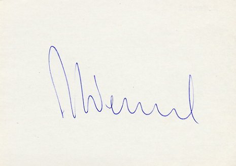 1980 Lake Placid & 1984 Sarajevo Alpine Skiing Medalist ANDREAS WENZEL Autograph 1980