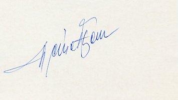 1960 Rome Modern Pentathlon Gold FERENC NEMETH Autograph 1980s