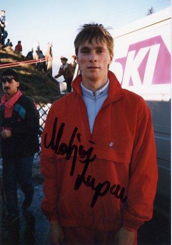 1988 Calgary Ski Jumping Silver MATJAZ ZUPAN Hand Signed Photo