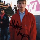 1988 Calgary Ski Jumping Silver MATJAZ ZUPAN Hand Signed Photo