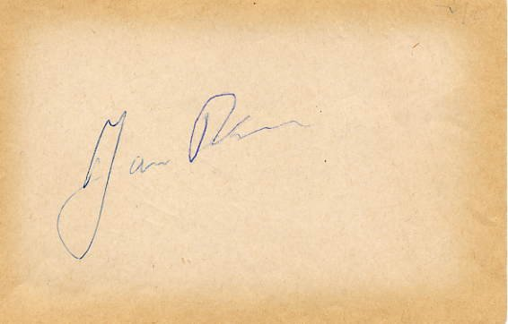 1960 Squaw Valley Speed Skating Bronze JAN PESMAN Autograph 1958