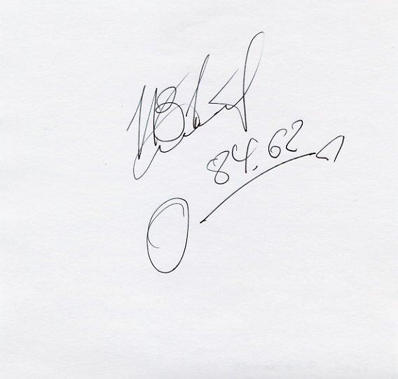 1992 Barcelona & 2000 Sydney Hammer Medalist IGOR ASTAPKOVICH Autograph 1996