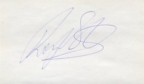 1992-96 400m & Relay Medalist ROGER BLACK Autograph 1994