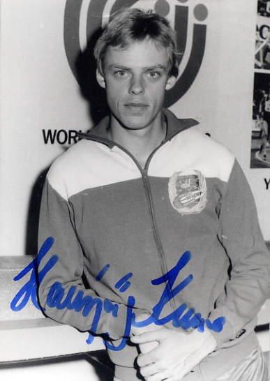 1988 Seoul 5000m Bronze HANSJORG KUNZE Hand Signed Photo 4x6