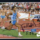 1988 Seoul & 1992 Barcelona Pole Vault Olympian PHILIPPE COLLET Hand Signed Photo