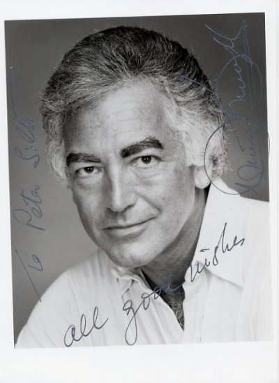Australian Conductor RICHARD BONYNGE  Hand Signed Photo 5x7